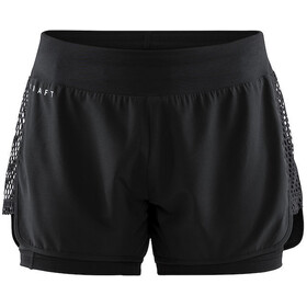 Craft Charge 2-in-1 Shorts Dame black